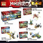 เลโก้จีน HEIMA 7003 Ninjago ชุด 6 กล่อง