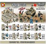 มินิฟิกเกอร์ทหาร DLP 9059 ชุด 8 กล่อง
