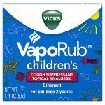วิคสำหรับเด็กVicks VapoRub Topical Ointment 1.76 oz Exp 2019