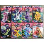 มินิฟิกเกอร์ SY 682 ชุด My Little Pony 8 กล่อง