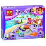 BELA10491 Friends ชุด Mia's Beach roller blades
