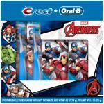 ชุดแปรงสีฟันและยาสีฟัน Oral-B and Crest Kid's Pack Featuring Marvel's Avenger [USA]
