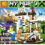 MINECRAFT เลโก้จีน LEZI 93059 ( ไม่บอกจำนวนชิ้น )