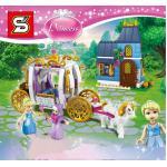เลโก้จีน SY 949 ชุด Cinderellas Enchanted Evening