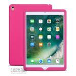 (สีชมพูเข้ม) เคสซิลิโคนนิ่ม (เคส iPad Pro 9.7)