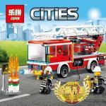 เลโก้จีน LEPIN CITY 02054 ชุด Fire Ladder Truck