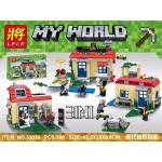 เลโก้จีน LELE 33076 Minecraft ชุดบ้าน 3 IN 1
