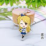 พวงกุญแจอนิเมะ - Fairy Tail