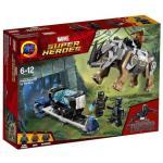 เลโก้จีน LEPIN 07100 Black Panther ชุด Rhino Face Off by the Mine