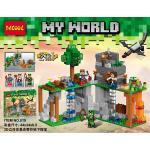 เลโก้จีน Decool 819 Minecraft ชุด 3D Real Underground Treasure