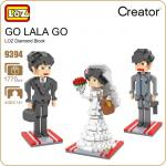 LOZ 9394 Nanoblock : Wedding Suite