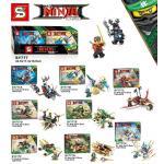 เลโก้จีน SY777 Ninjago The Movie ชุด 8 กล่อง