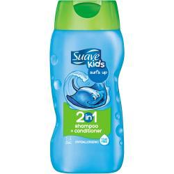 แชมพูผสมครีมนวดผมสำหรับเด็ก Suave for Kids 2 in 1 Shampoo/Conditioner, Surfs Up ++ พร้อมส่ง++