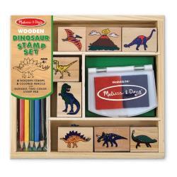 ชุดตัวปั๊มไดโนเสาร์ปลอดสารพิษMELISSA & DOUG DINOSAUR STAMP SET