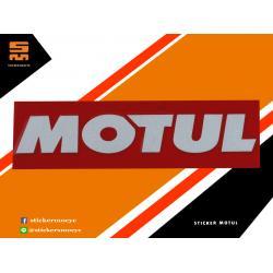 สติ๊กเกอร์ Motul สติ๊กเกอร์ โมตุล สะท้อนแสง 1 ชิ้น ขนาด 3 x 11 ซม.