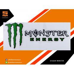 สติ๊กเกอร์ Monster สติ๊กเกอร์ Monster Energy 1 ชิ้น ขนาด 4 x 10.5 ซม.