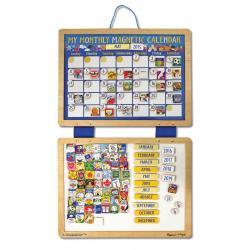 ปฏิทินรายเดือนสำหรับเด็ก My Monthly Magnetic Calendar