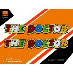 สติ๊กเกอร์ Rossi 46 Sticker Rossi 46 The Doctor 1 ชิ้น ขนาด 1.5 x 10.5 ซม.