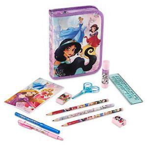 ชุดเซทสี Disney Princess Zip-Up Stationery Kit [USA]