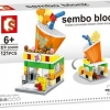 Sembo Block SD6069 : Milk-Tea