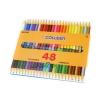 สีไม้ COLLEEN แท่งกลม 2 หัว 48 สี