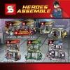 เลโก้จีนชุดเล็ก SY223 ชุด Super Heroes 4 กล่อง