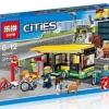 เลโก้จีน LEPIN CITY 02078 ชุด Bus Station*