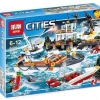 เลโก้จีน LEPIN CITY 02081 ชุด Coast Guard Head Quarters