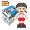 Loz 9809 Nanoblock : Shizuka