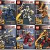 Super Heroes เลโก้จีน LEPIN 6910 ชุด 8 กล่อง