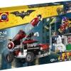 BATMAN เลโก้จีน LEPIN 07097 ชุด Harley Quinn™ Cannonball Attack
