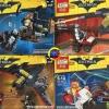 เลโก้จีนชุดเล็ก LEPIN 693 ชุด Batman Movie 4 กล่อง