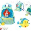 กระเป๋าเป้กระเป๋านักเรียนสำหรับเด็ก Little Mermaid Backpack [USA]