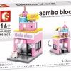 Sembo Block SD6031 : Cake Shop