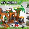 เลโก้จีน LELE 33081 ชุด Minecraft ป่าผีสิง