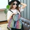 Issey Miyake Rainbow Backpackแบบใหม่ก็มาคร่าา กระเป๋าเป้สีรุ้ง วัสดุพียู