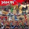 มินิฟิกเกอร์ LELE 31103 ชุด Ninja Go 8 กล่อง