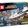 เลโก้จีน SY 356 DC Comics Super Heroes ชุด Darkseid Invasion