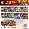 เลโก้ชุดเล็ก SY 774 ชุด Super heroes พร้อมยาน