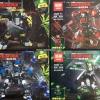 เลโก้จีนชุดเล็ก LEPIN 03067 ชุด NINJA GO 4 กล่อง