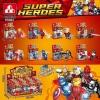 Super Heroes เลโก้จีน P 8002 ชุด 8 กล่อง