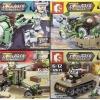 เลโก้ทหาร เลโก้จีน SEMBO 12668 ชุด 4 กล่อง