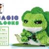 นาโนบล็อค Babu Magic 8813 กบนักเดินทาง (Tabikaeru)