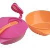 ชามสำหรับเด็กพร้อมฝาปิดและช้อน Tommee Tippee Explora Easy Scoop Bowls with Spoon