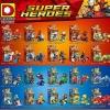 Super Heroes เลโก้จีน DLP 9072 ชุดรวมฮีโร่ 20 กล่อง