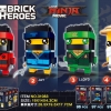 เลโก้จีน Brick Headz ชุด The Ninja Movies LELE 31083