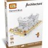 Loz สถาปัตยกรรม : Greek TEMPLE No.9383