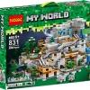 เลโก้จีน Decool 281 Minecraft ชุด The Mountain Cave