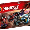 NINJAGO เลโก้นินจาโก SY 1009 ชุด Street Race of Snake Jaguar