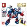 Super Heroes เลโก้จีน SD 6000 MK-2 Iron Patriot
